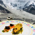 How about treating yourself to a fine-dining experience after a week-long climb to the world's highest pop-up restaurant in the Himalayas?