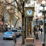 Gastown Steam Clock ,Vancouver , Canada
